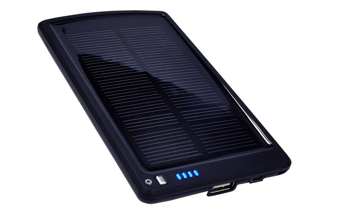 Opteka BP-SC4000 Ultra Thin Solar Powered High Capacity (4000mAh) Backup Battery