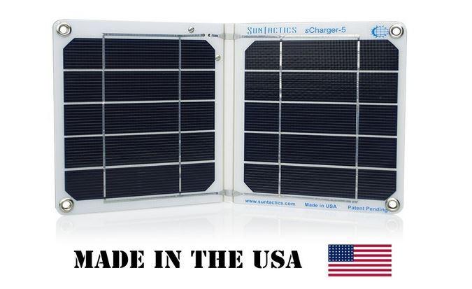 Suntactics sCharger-5 Solar Charger