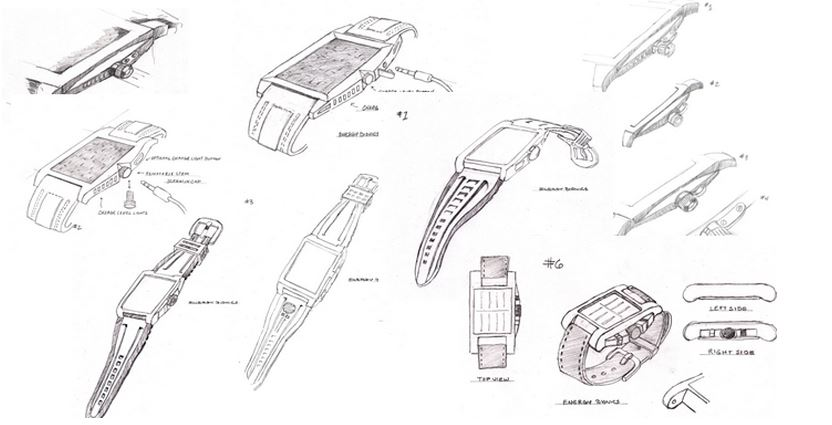 From concept to prototype-Carbon the solar wristwatch