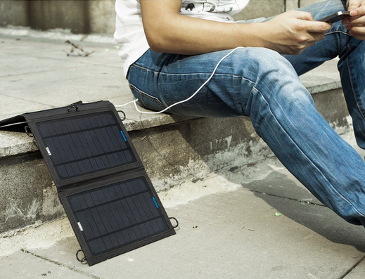 Review Anker 8w Solar Panel