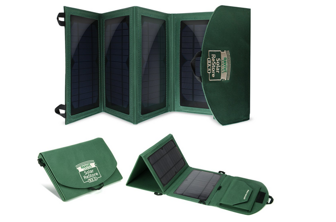 ReVIVE ReStore RA4 Universal 14-watt Folding Solar Charger Dual USB Ports review